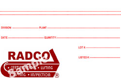 Material Amp Appliance Listing Radco Inc